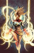 Captain Marvel Vol 8 1 Yu Variant Textless