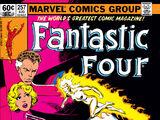 Fantastic Four Vol 1 257