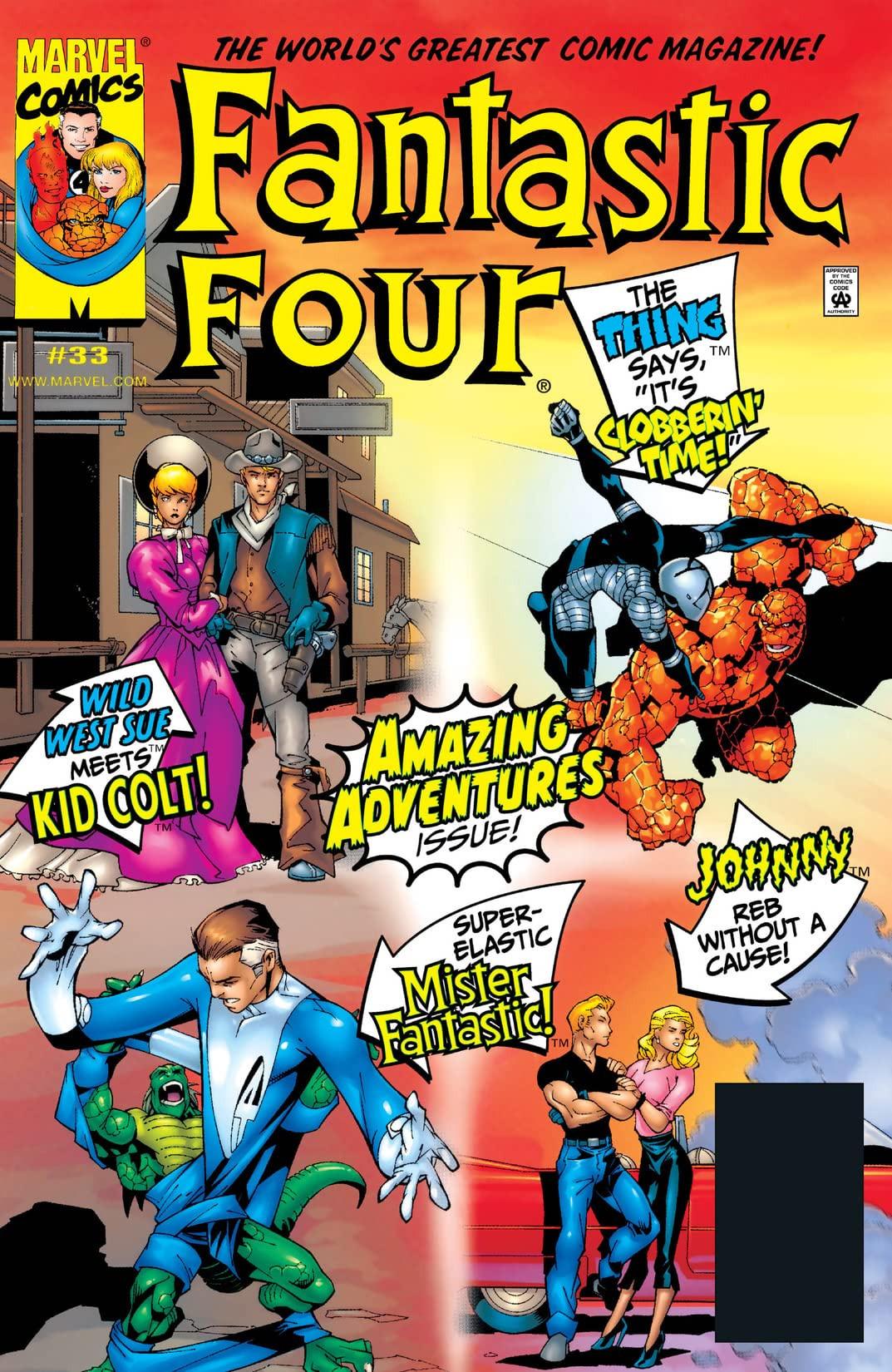 Fantastic Four Vol 3 33
