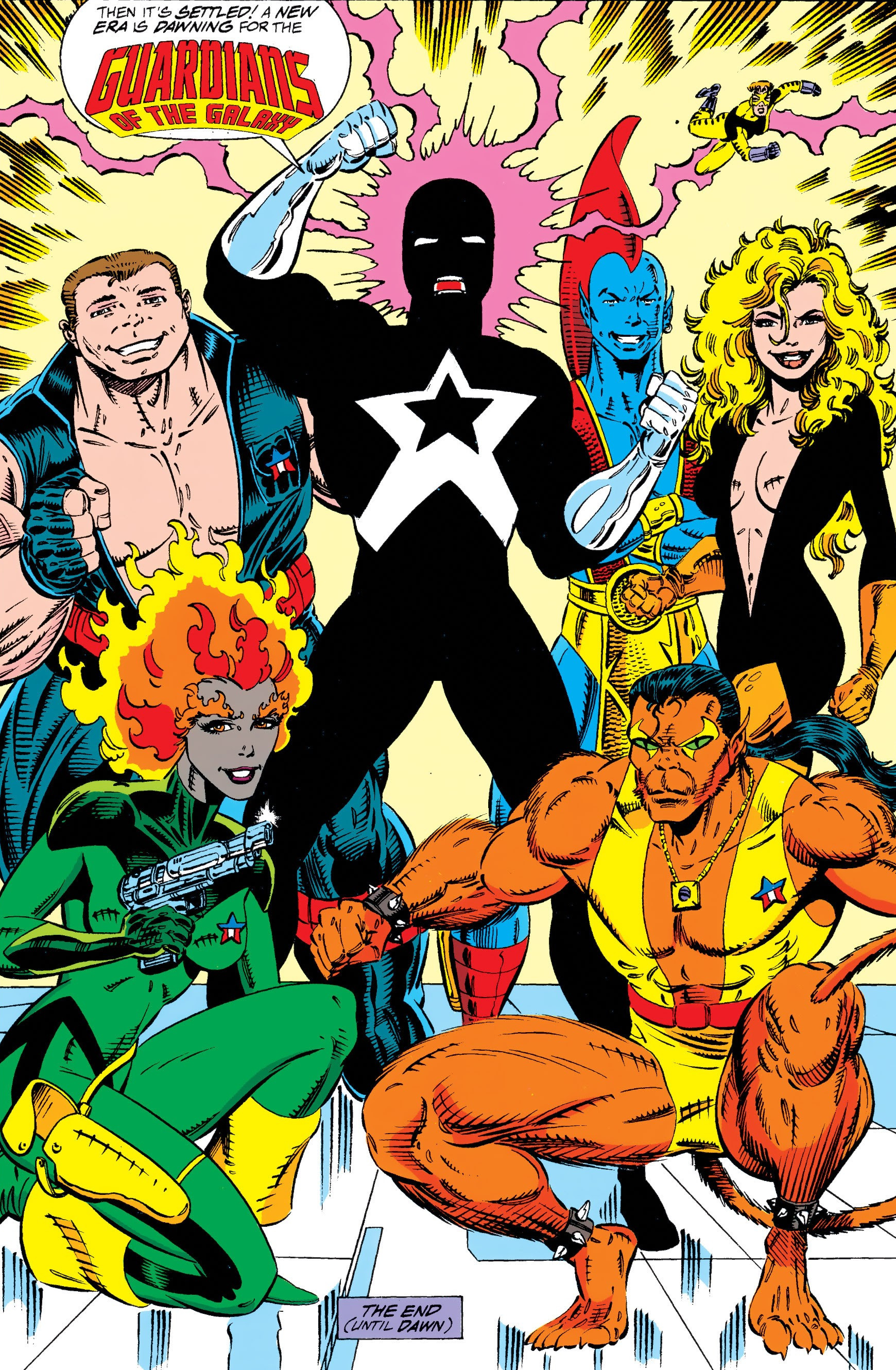 Guardians of the Galaxy (Earth-691) from Guardians of the Galaxy Vol 1 50 0001.jpg