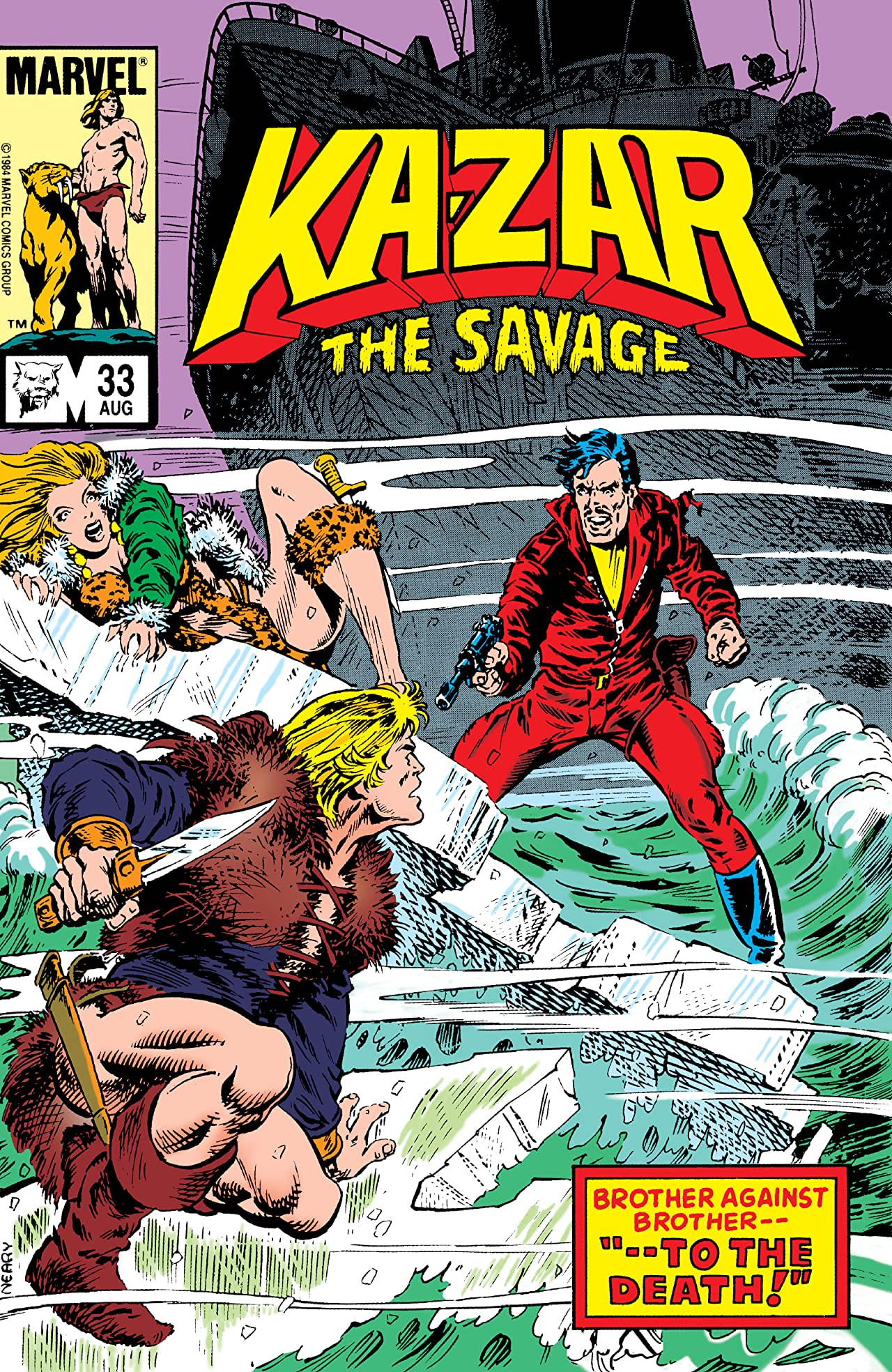 Ka-Zar the Savage Vol 1 33