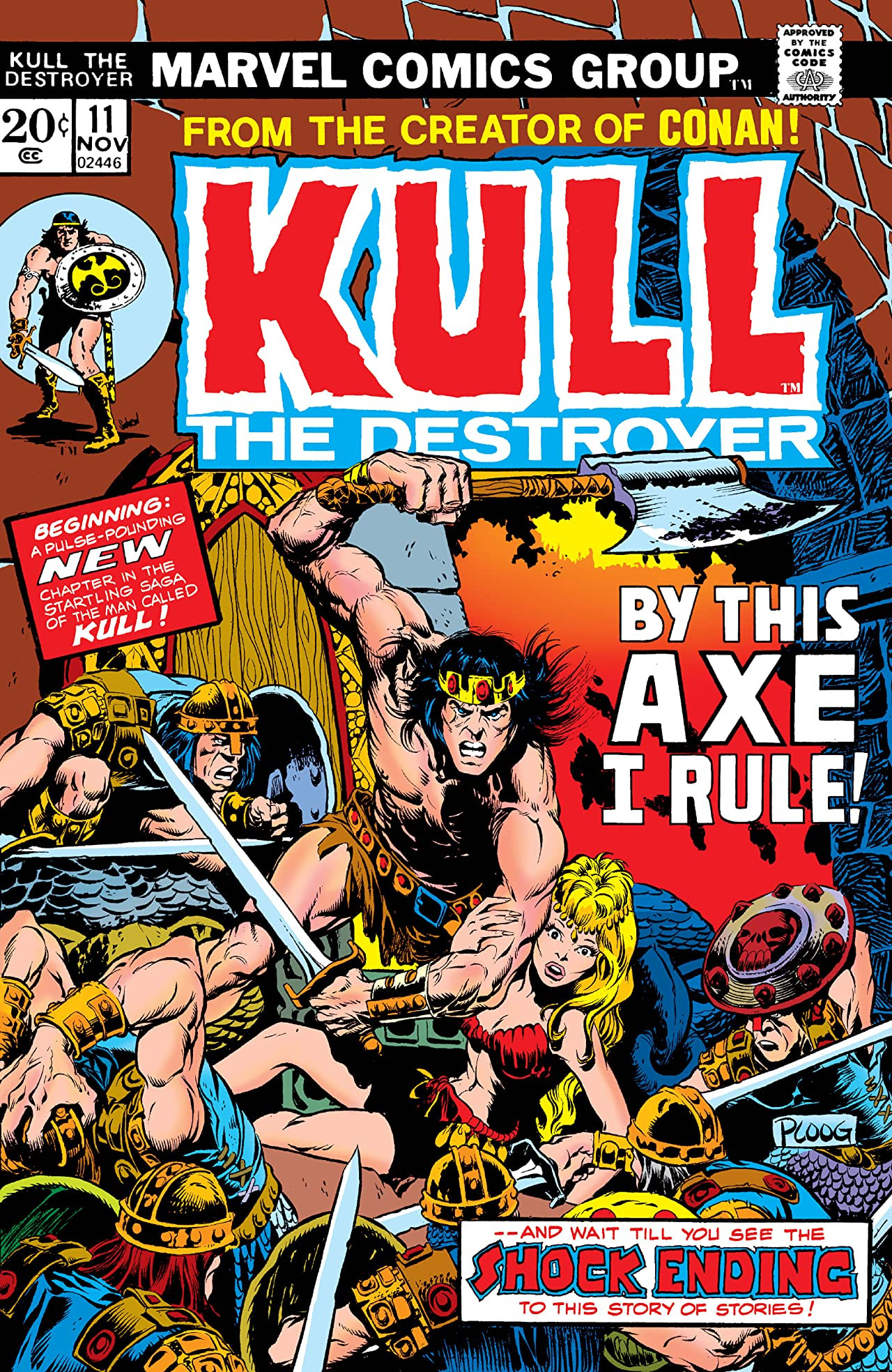 Kull the Destroyer Vol 1 11