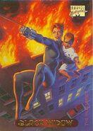 Natalia Romanova (Earth-616) from Marvel Masterpieces (Trading Cards) 001
