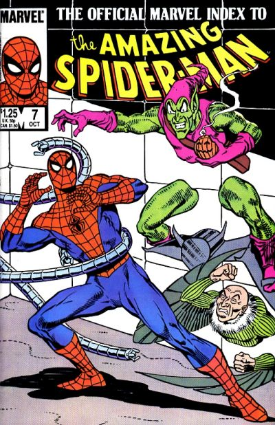 Official Marvel Index to Amazing Spider-Man Vol 1 7