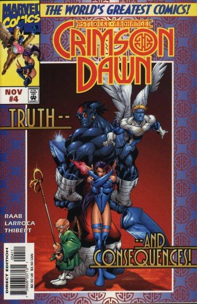Psylocke and Archangel Crimson Dawn Vol 1 4