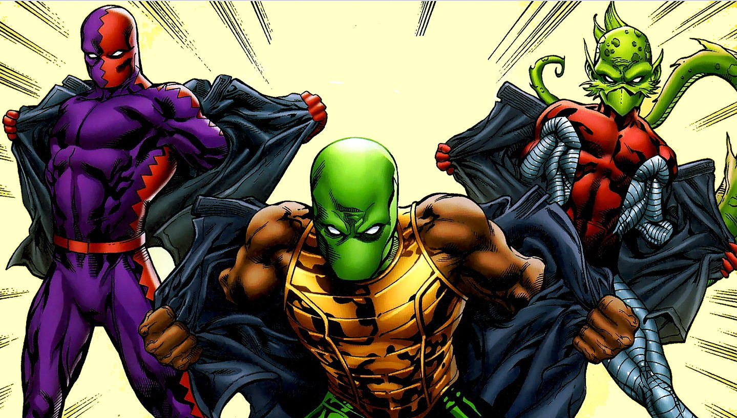 Serpent Society (Earth-33900)/Gallery