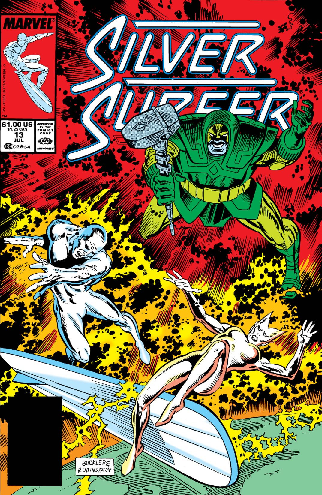 Silver Surfer Vol 3 13
