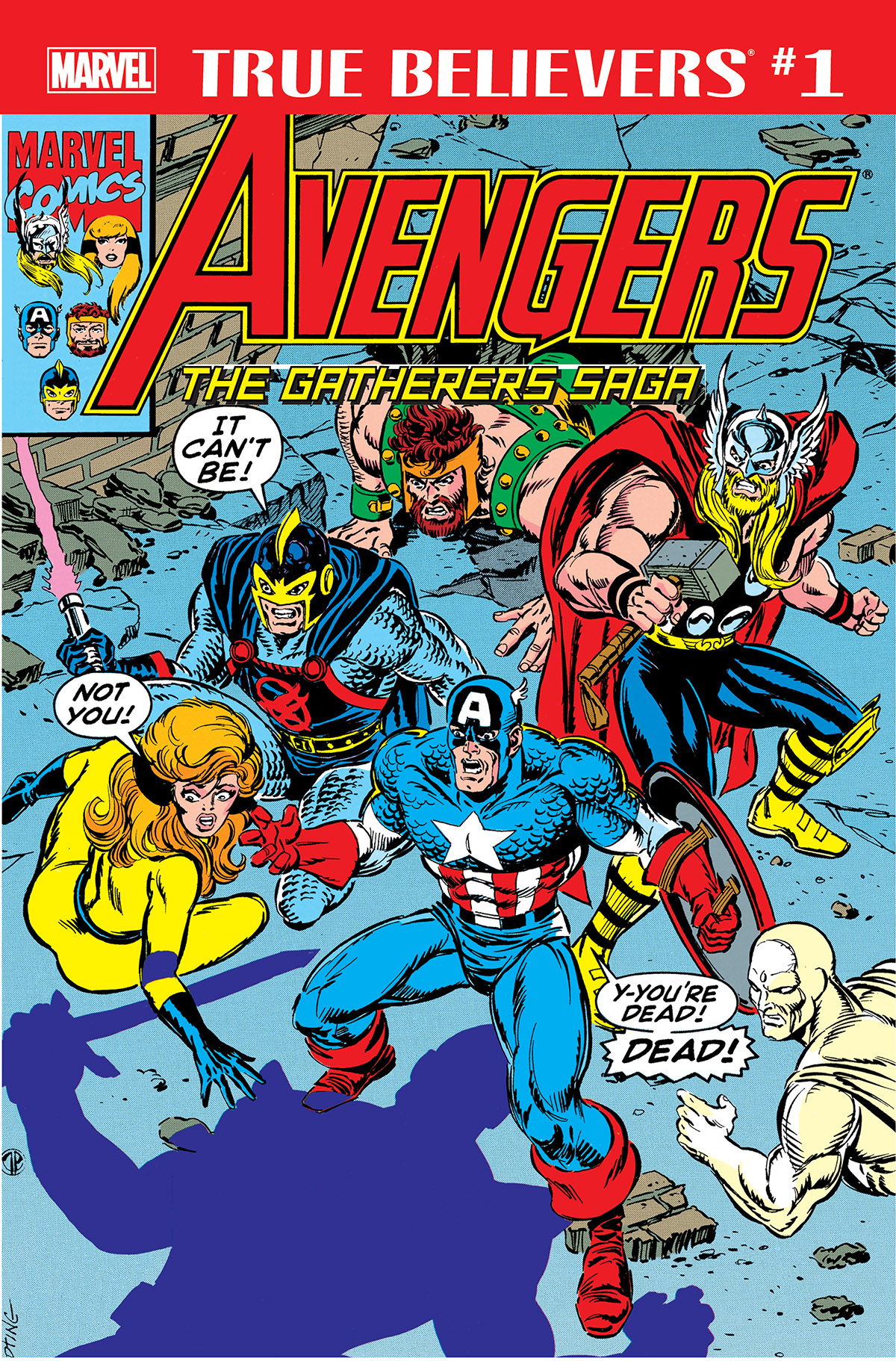 True Believers: Avengers - The Gatherers Saga Vol 1