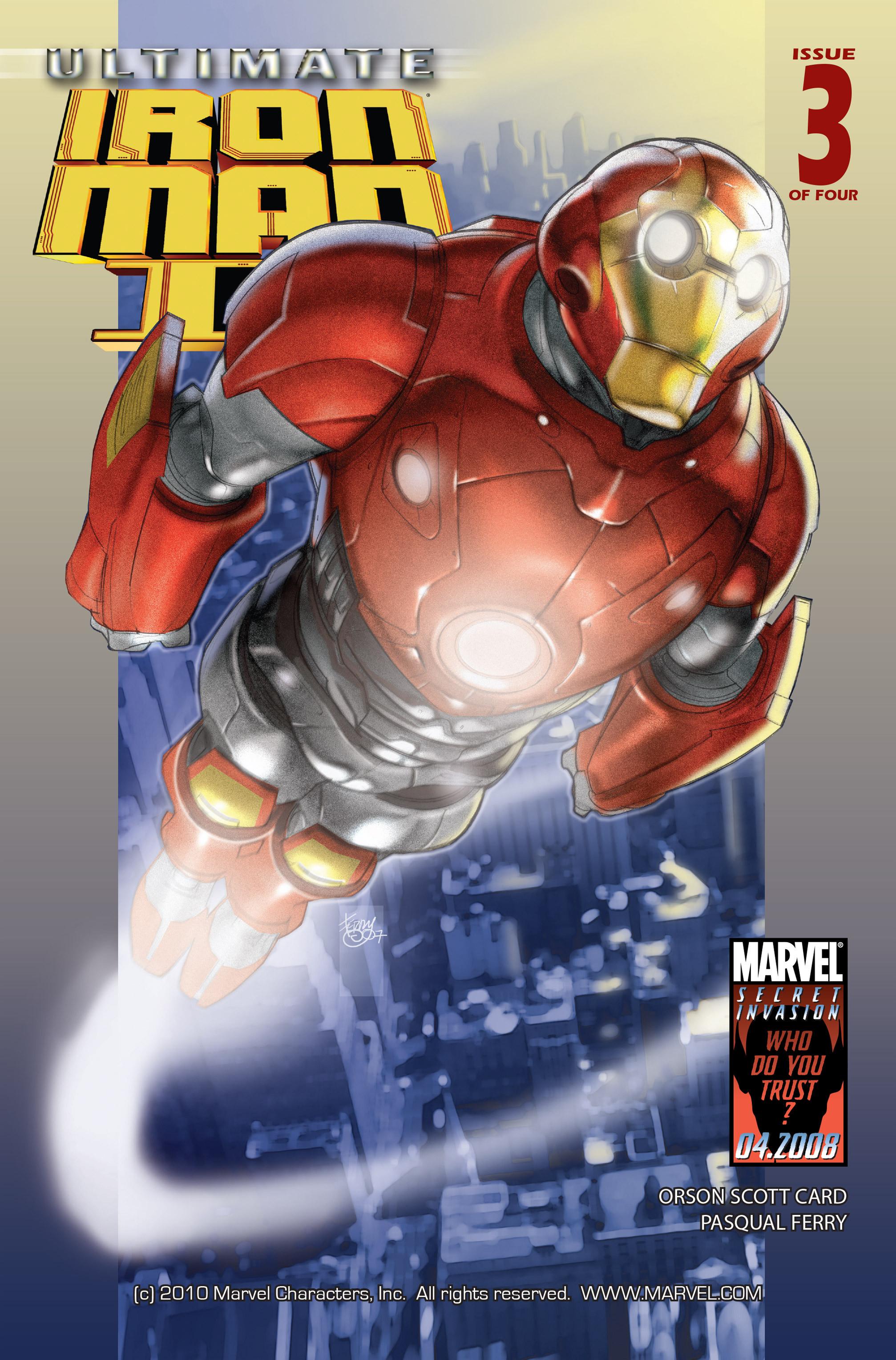 Ultimate Iron Man II Vol 1 3
