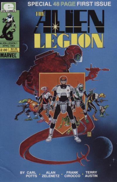 Alien Legion Vol 1