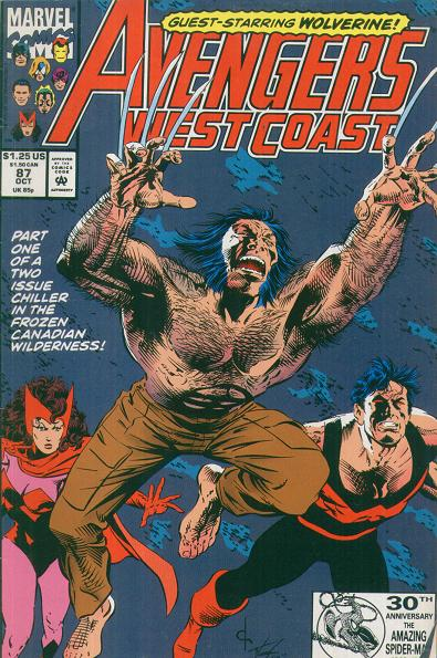 Avengers West Coast Vol 2 87