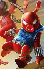 Benjamin Reilly (Scarlet Spider-Ham) (Earth-TRN461) from Spider-Man Unlimited (video game) 002.jpg