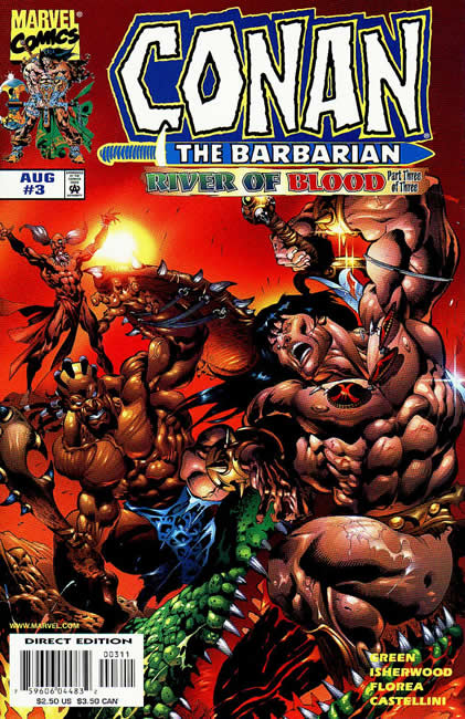 Conan the Barbarian: River of Blood Vol 1 3