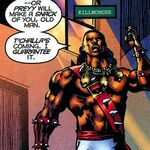 Erik Killmonger (Earth-11236) in Black Panther Vol 3 36.jpg
