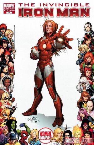 Invincible Iron Man Vol 2 29 Women of Marvel Variant.jpg