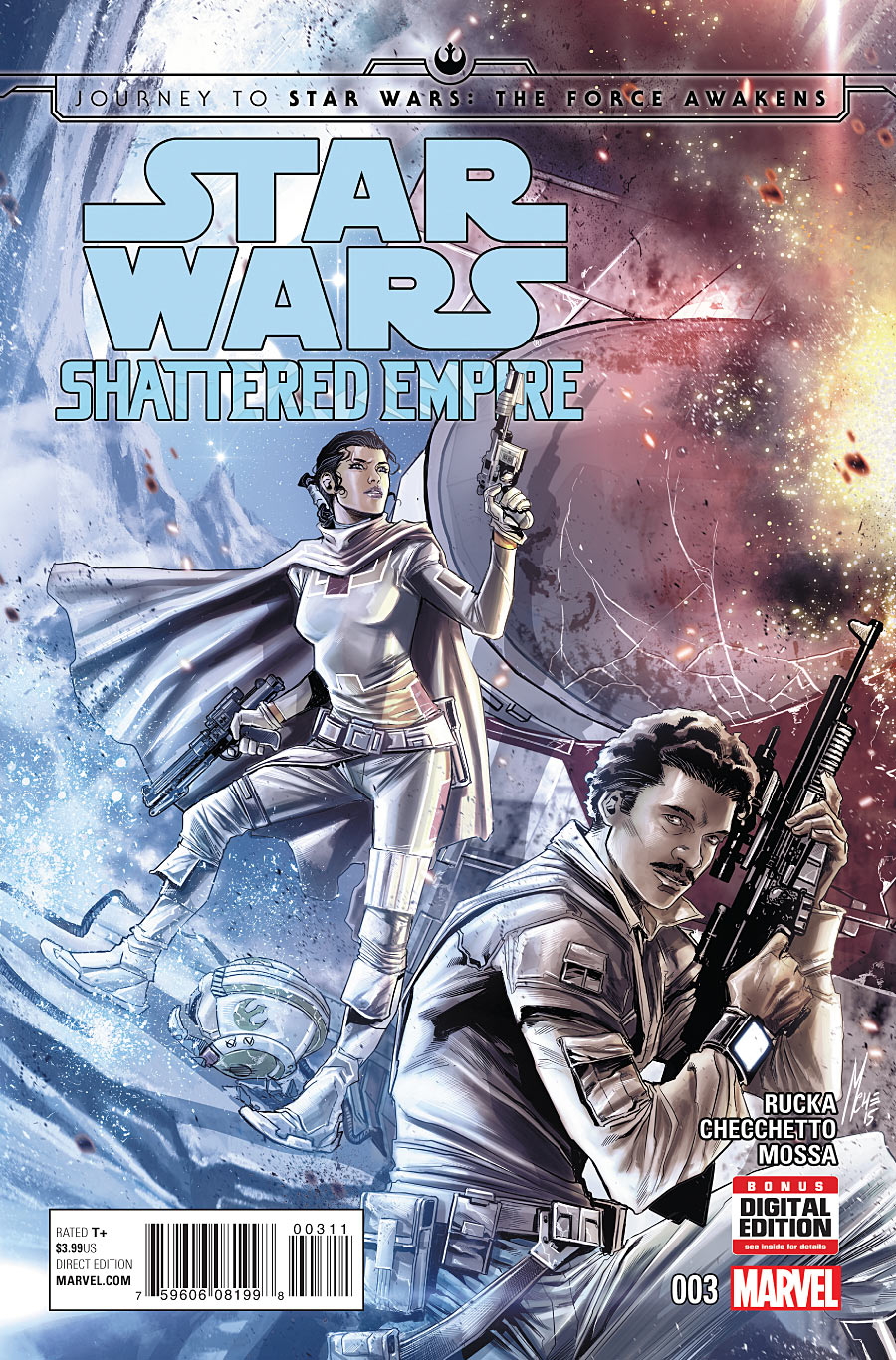 Journey to Star Wars: The Force Awakens - Shattered Empire Vol 1 3