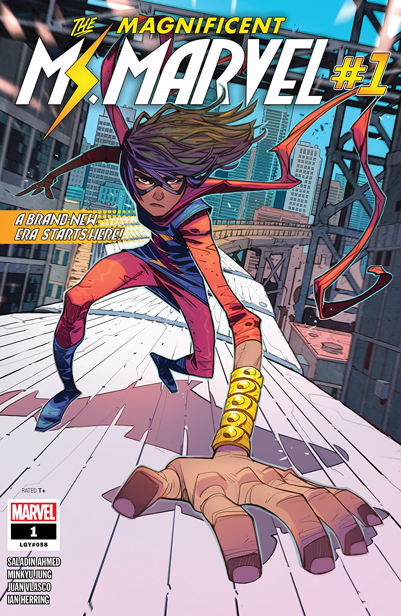 Magnificent Ms. Marvel Vol 1 1