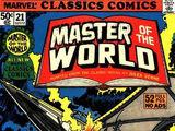 Marvel Classics Comics Series Featuring Master of the World Vol 1 1