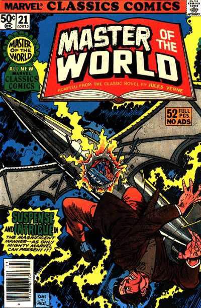 Marvel Classics Comics Series Featuring Master of the World Vol 1