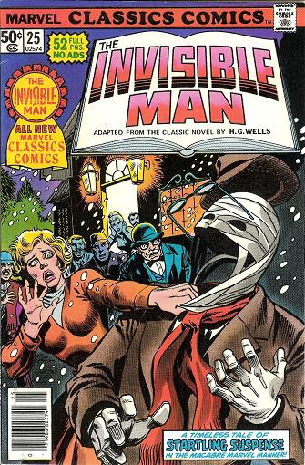 Marvel Classics Comics Series Featuring The Invisible Man Vol 1 1