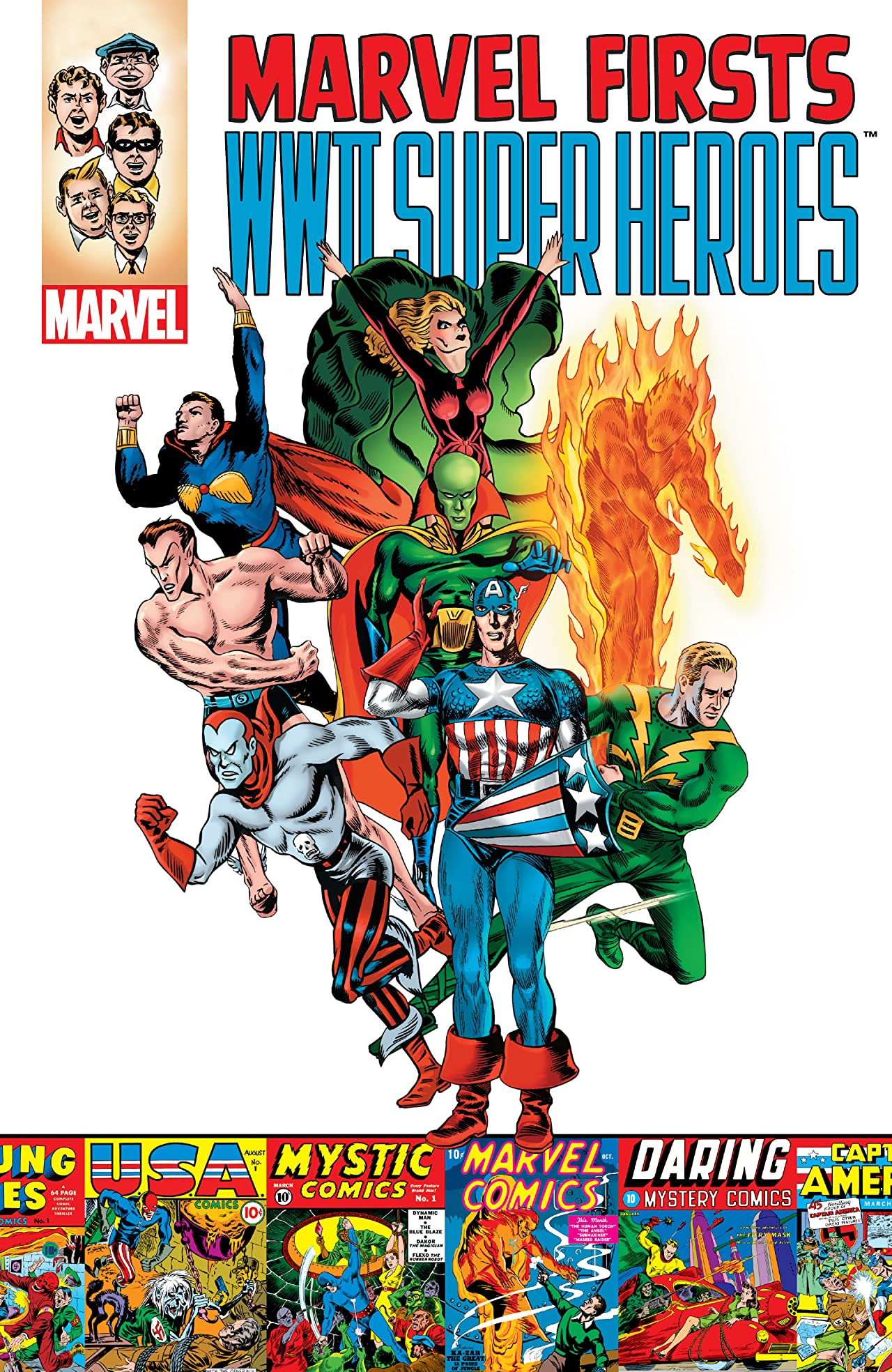 Marvel Firsts: WWII Super Heroes Vol 1 1