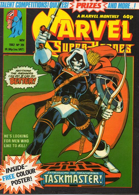 Marvel Super-Heroes (UK) Vol 1 391