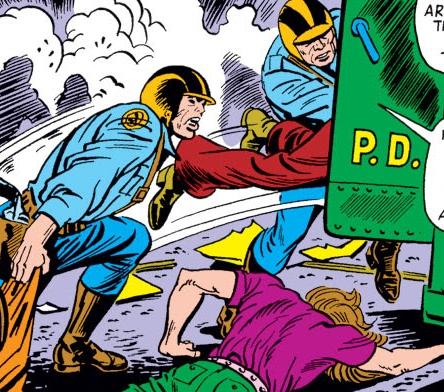 Metropolitan Police Department (Counter-Earth) (Earth-616)