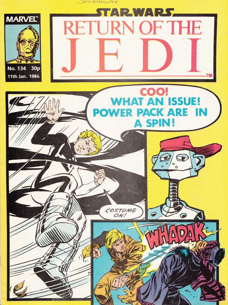 Return of the Jedi Weekly (UK) Vol 1 134