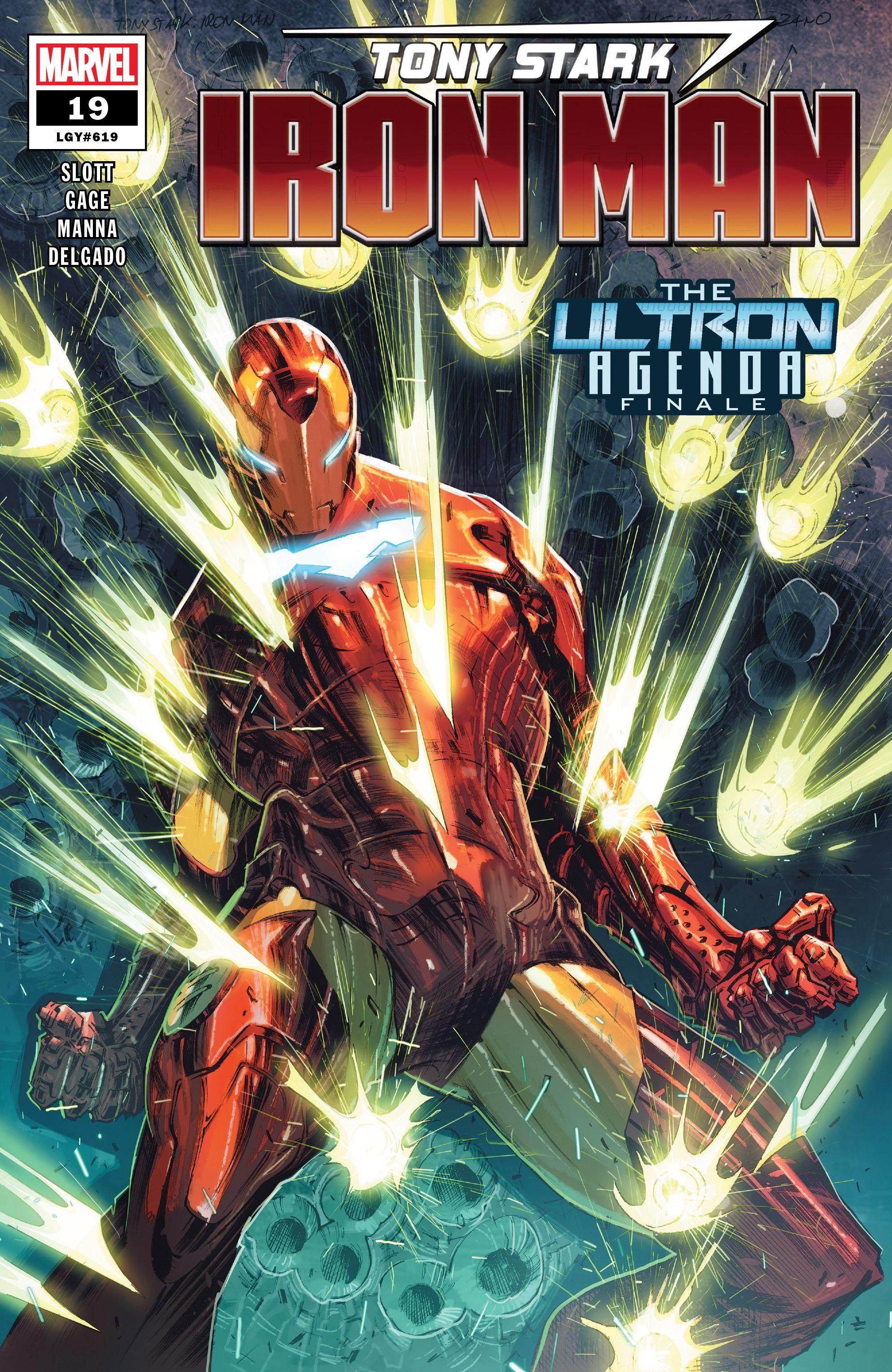 Tony Stark: Iron Man Vol 1 19