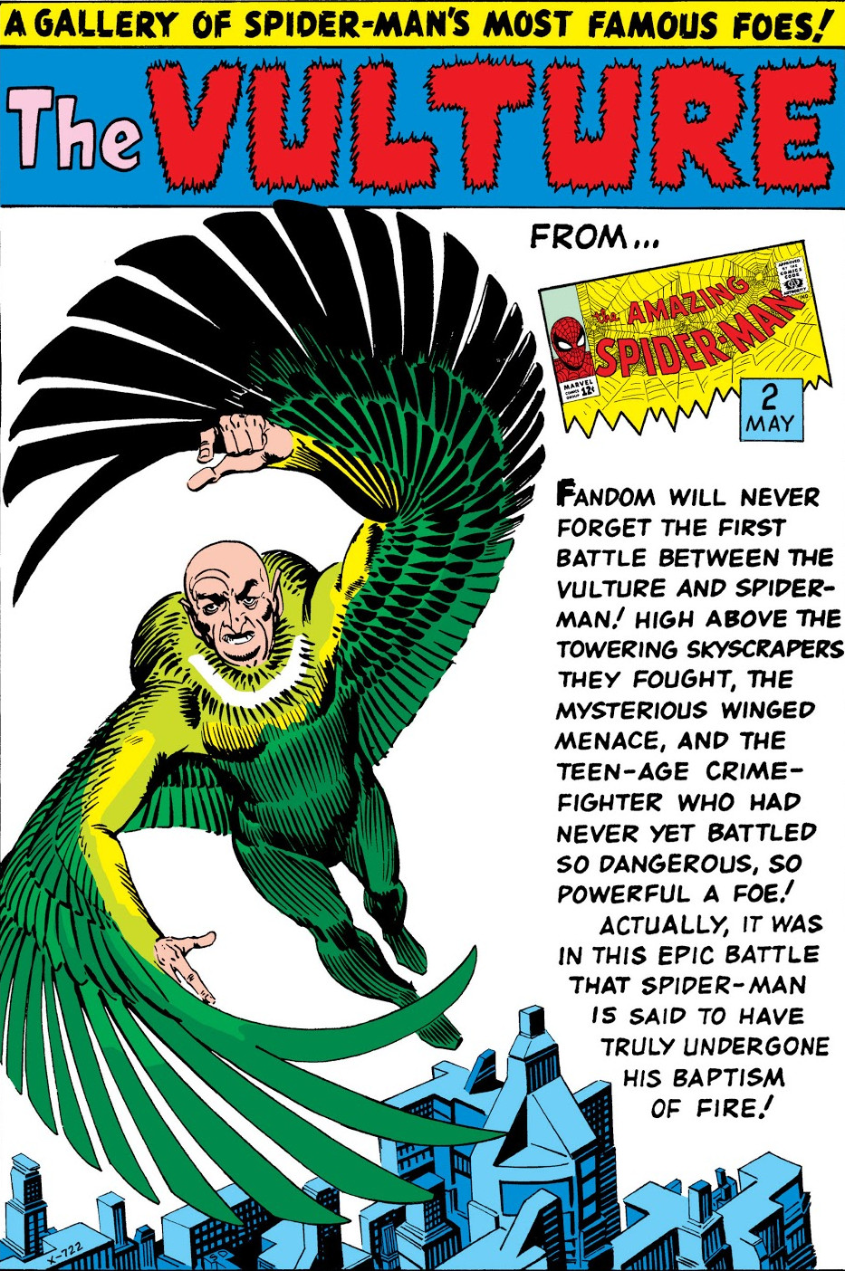 Vulture Pin-Up from Amazing Spider-Man Annual Vol 1 1.jpg