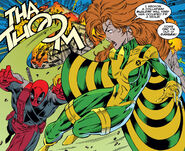 Wade Wilson (Earth-616) and Theresa Cassidy (Earth-616) from Deadpool Vol 2 3 001