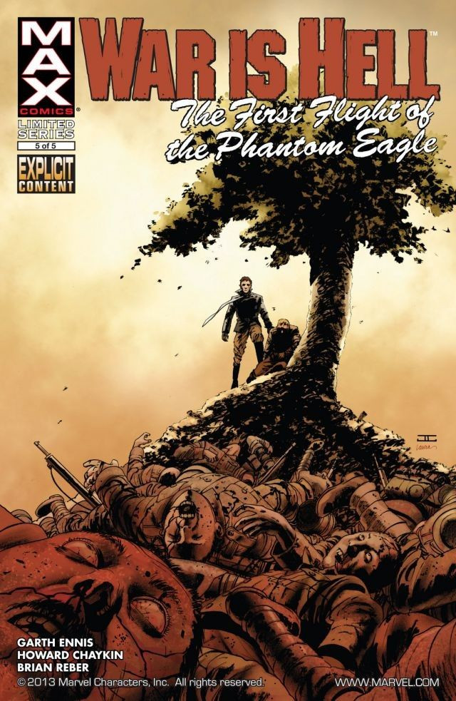 War Is Hell: The First Flight of the Phantom Eagle Vol 1 5