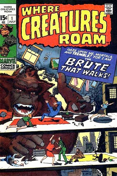 Where Creatures Roam Vol 1
