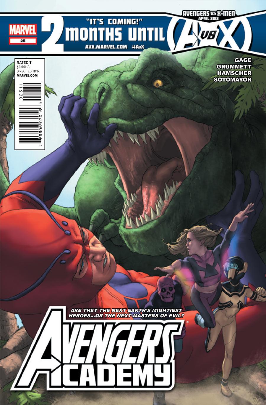 Avengers Academy Vol 1 25