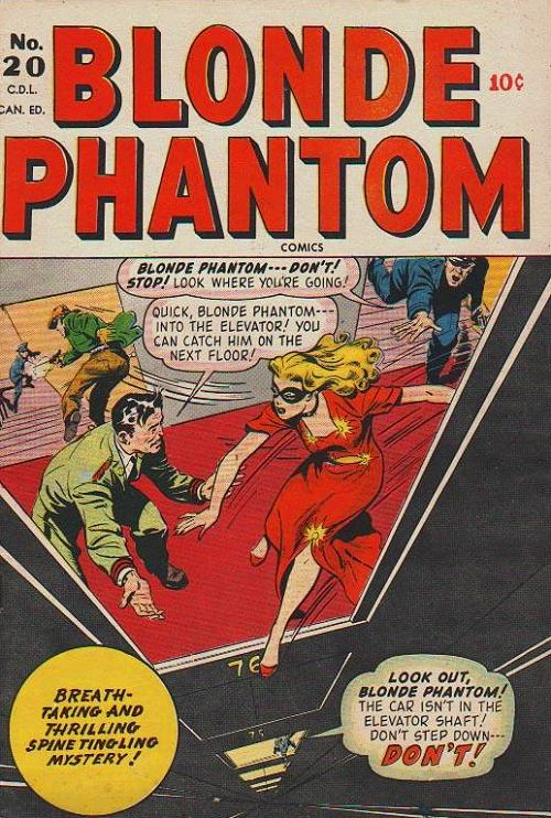 Blonde Phantom Comics Vol 1 20