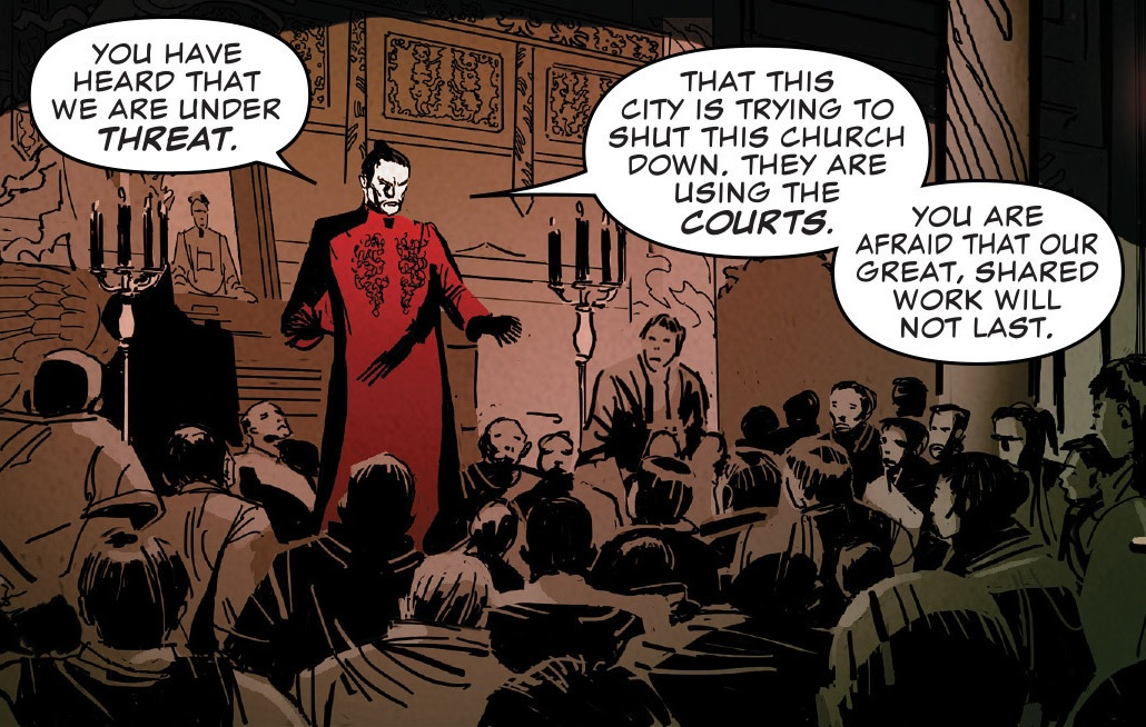 Church of the Sheltering Hands (Earth-616)