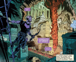 Clinton Barton (Earth-616) and Underground City from Absolute Carnage Avengers Vol 1 1.png