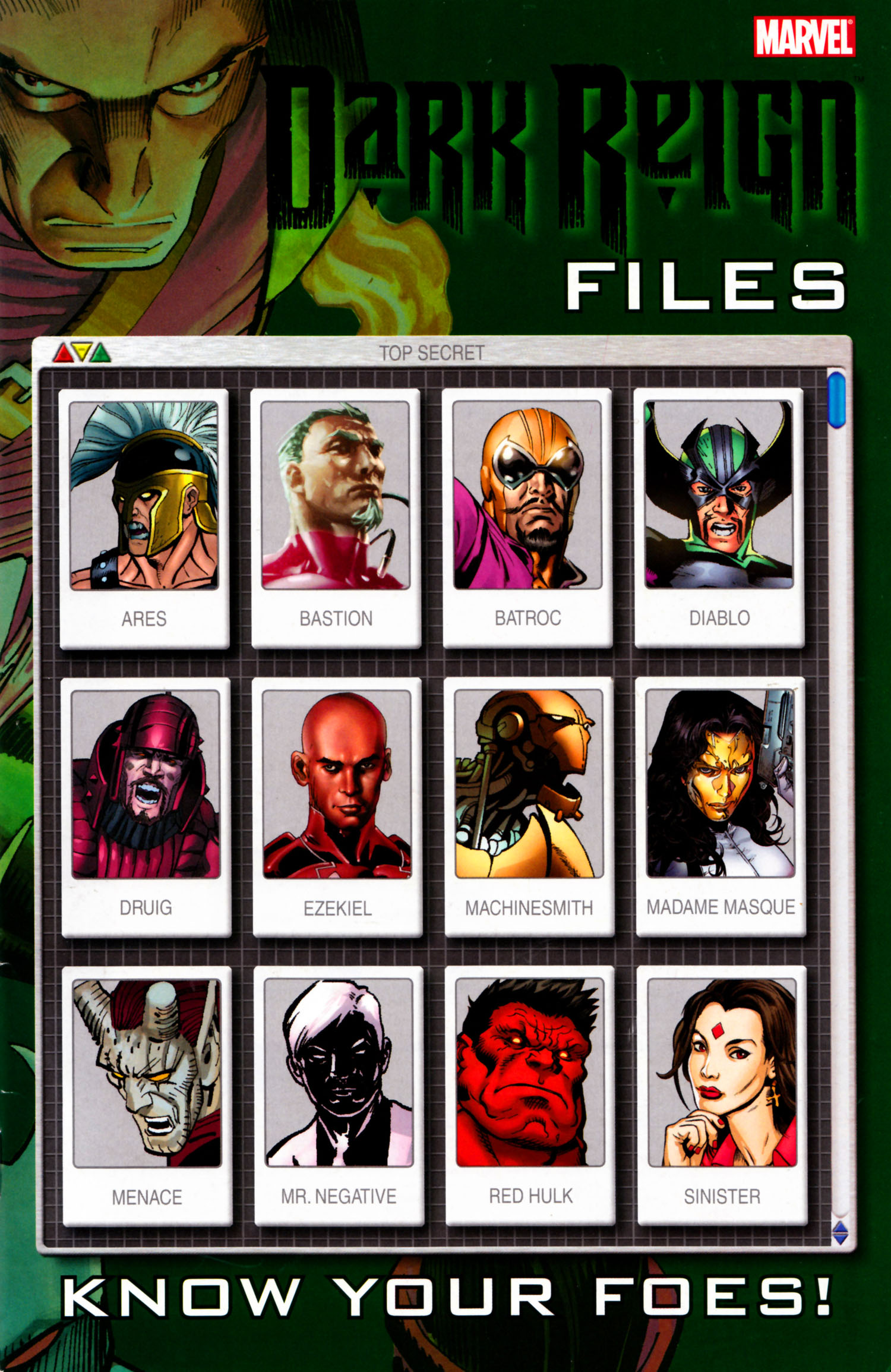 Dark Reign Files Vol 1