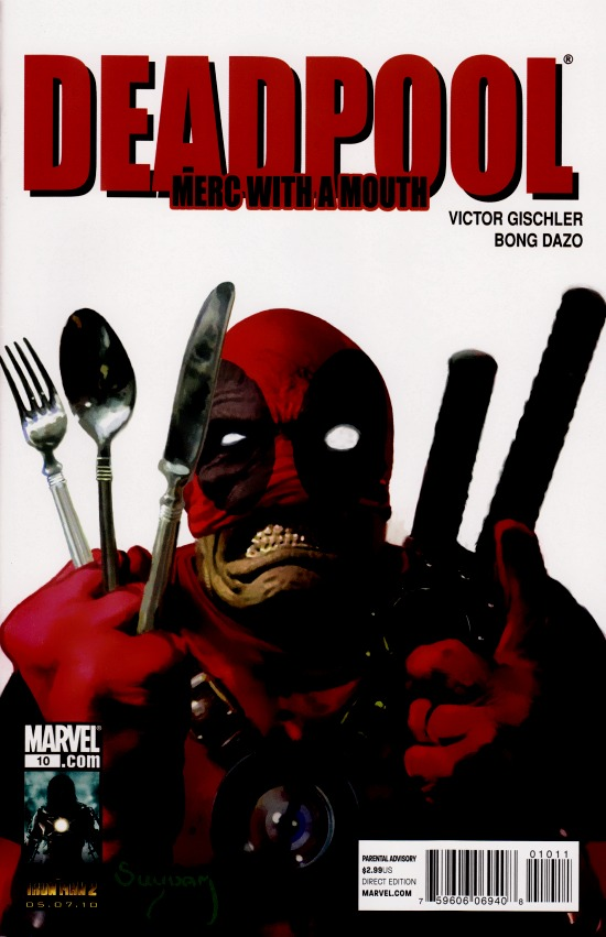 Deadpool: Merc with a Mouth Vol 1 10