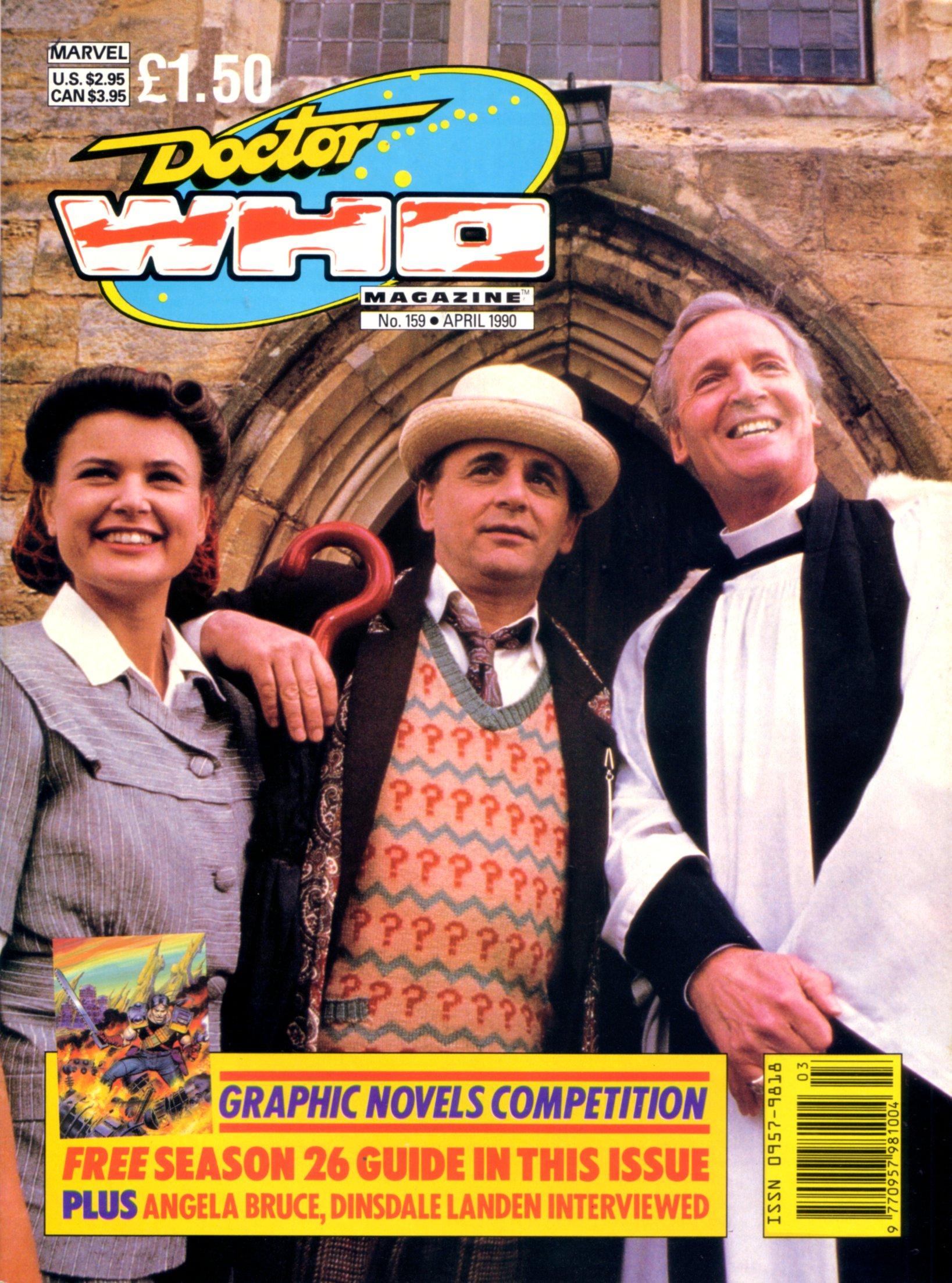 Doctor Who Magazine Vol 1 159