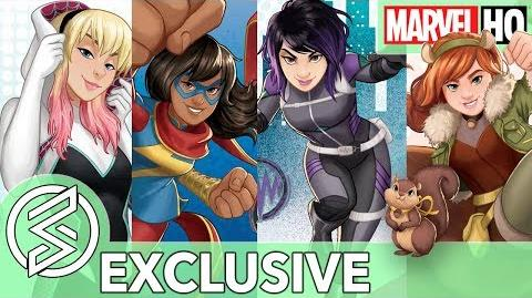 MARVEL RISING BEGINS! The Next Generation of Marvel Heroes (EXCLUSIVE)