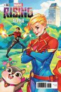 Marvel Rising Alpha Vol 1 1 Gonzales Connecting Variant