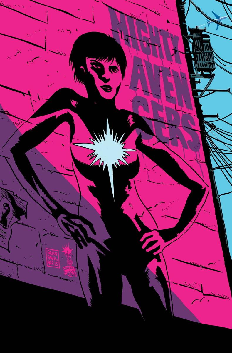 Mighty Avengers Vol 2 2 Francavilla Variant Textless.jpg
