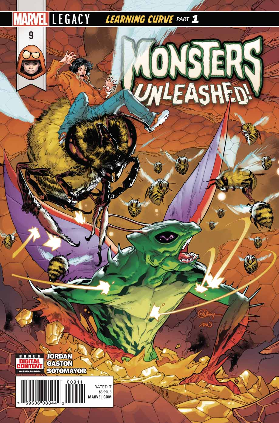 Monsters Unleashed Vol 3 9