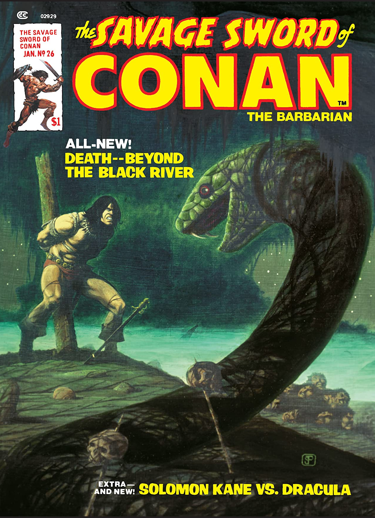Savage Sword of Conan Vol 1 26