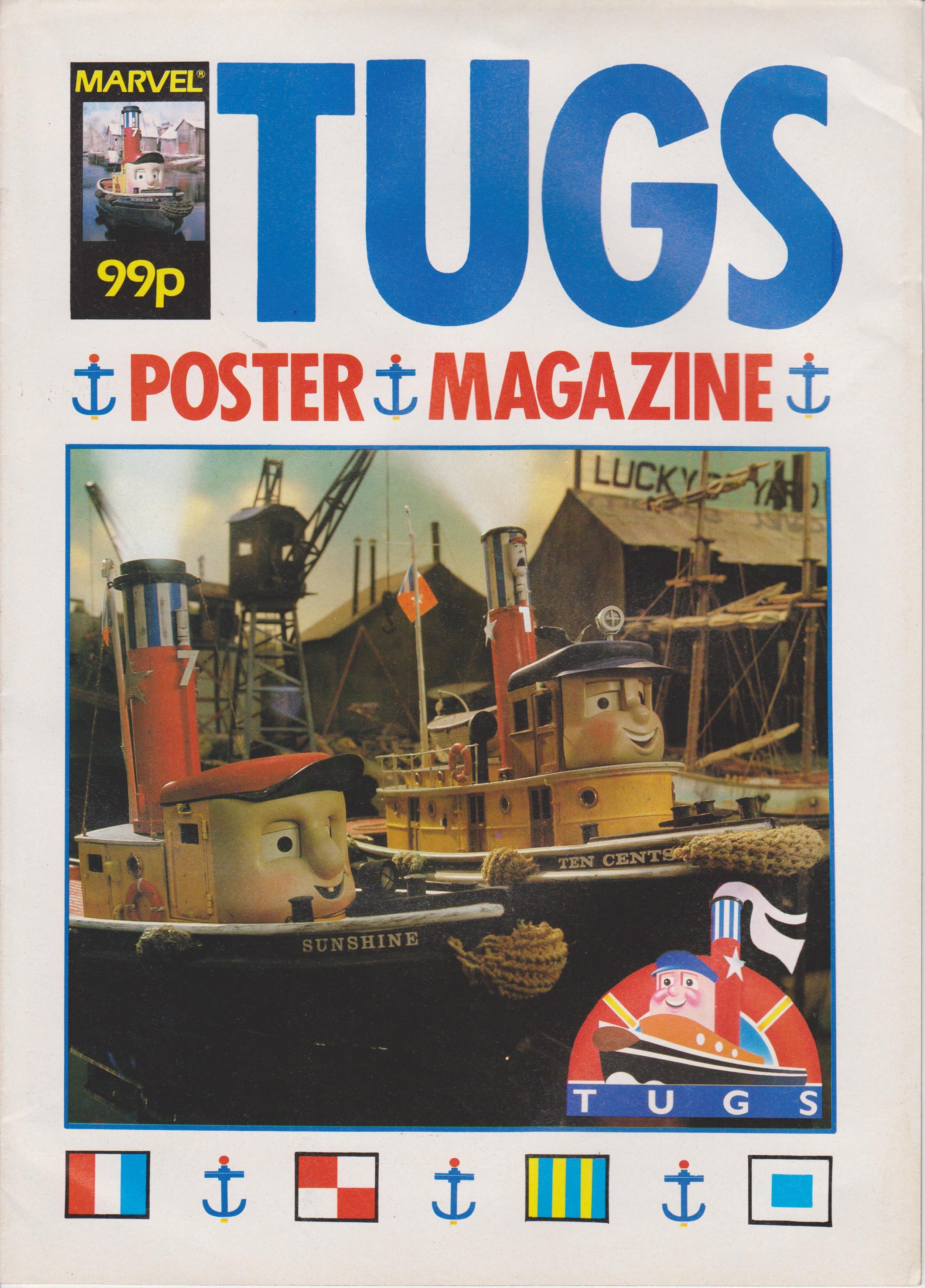 TUGS Poster Magazine Vol 1