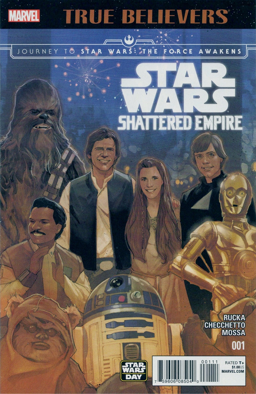 True Believers: Shattered Empire Vol 1 1