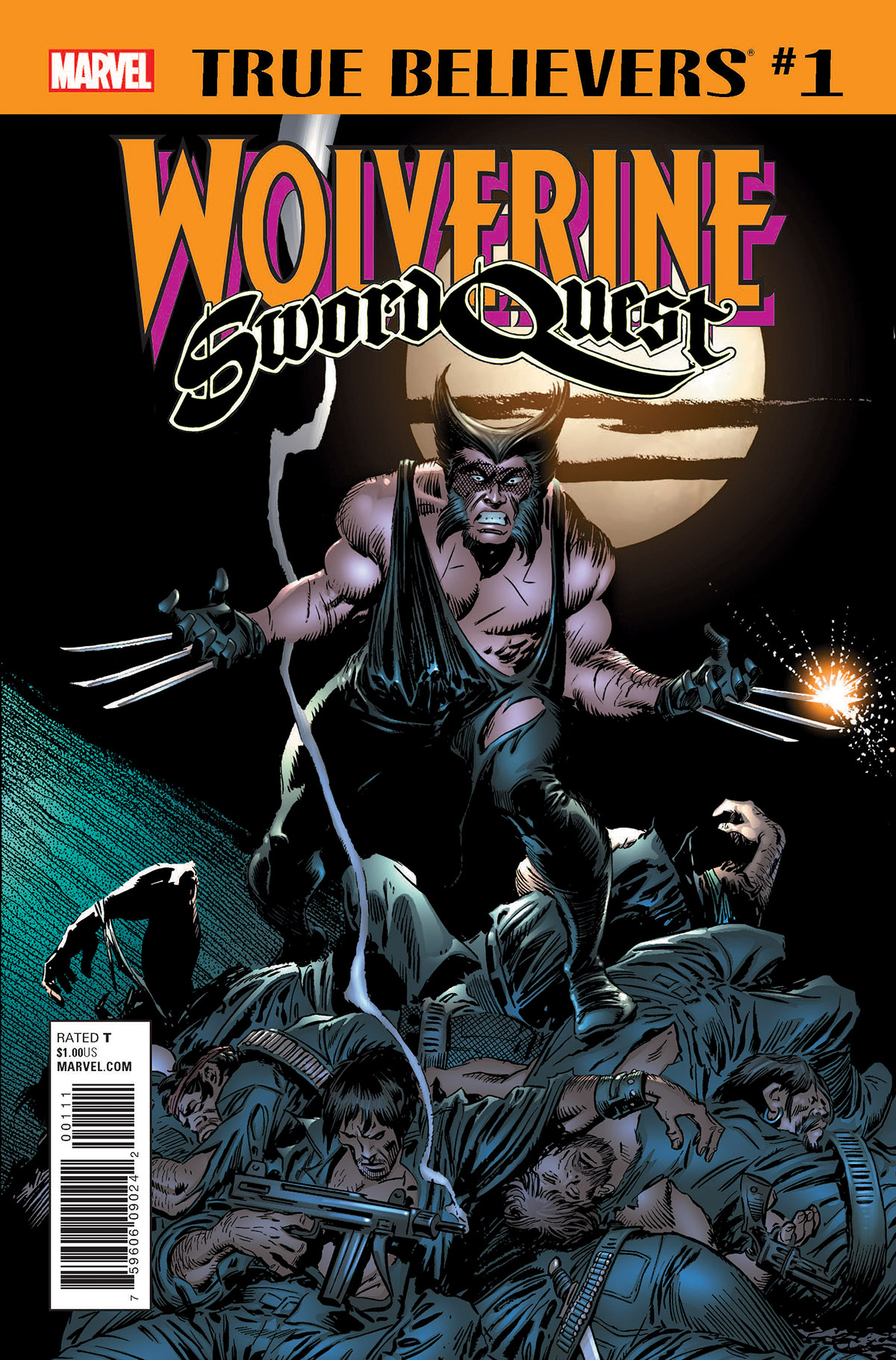 True Believers: Wolverine - Sword Quest Vol 1 1