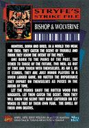 Uncanny X-Men Vol 1 295 Trading card back