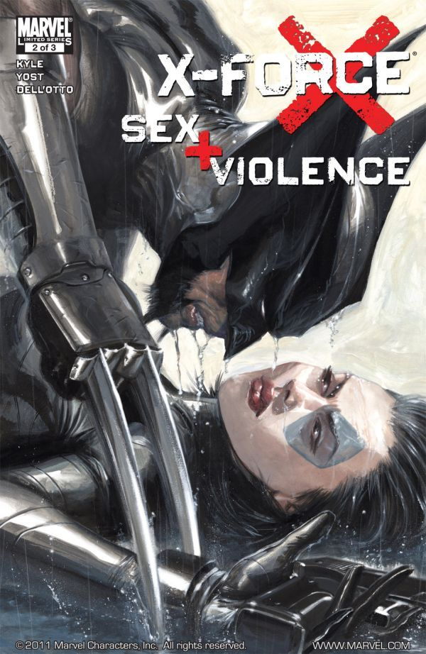 X-Force: Sex and Violence Vol 1 2